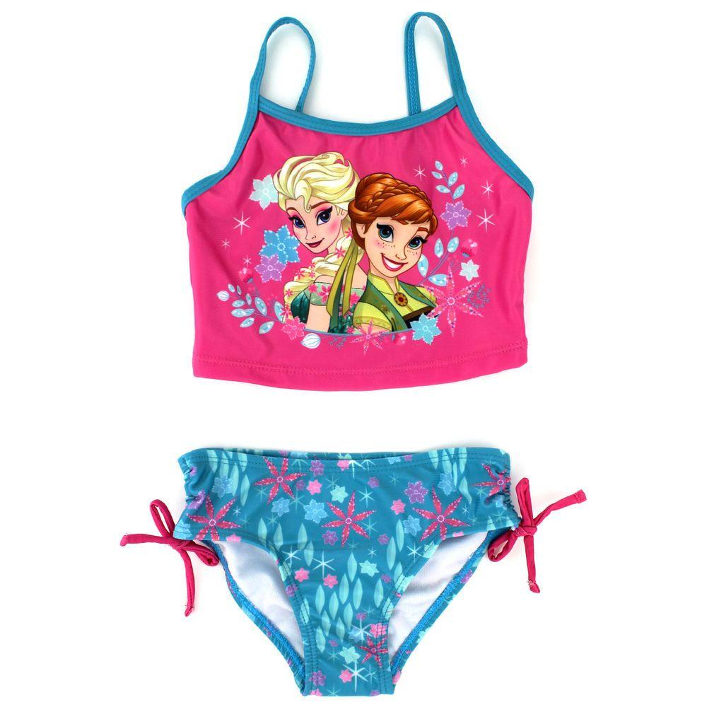 4a99e6015d Disney Frozen Fever Elsa Anna Toddler Girls Tankini Swimsuit Swimwear  www.YankeeToyBox.com #yankeetoybox #ytb #Disney #frozen #Tankini