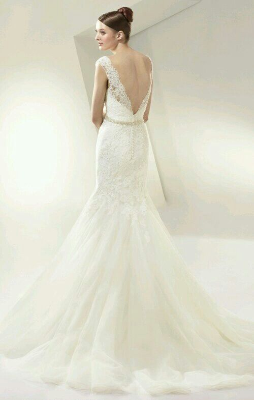 Our stunning BT14-13 From the 2014 Beautiful by Enzoani Collection Now Available at Bridal Wardrobe - Lynwood Bridge