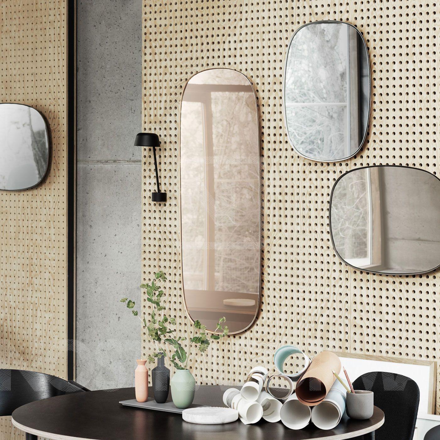 Muuto Framed Spiegel Gross Skandinavische Inneneinrichtung Skandinavisch Einrichten Moderne Dekoration