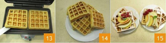 Ricetta Waffle Dolci Giallo Zafferano.Pin Su Felice In Cucina