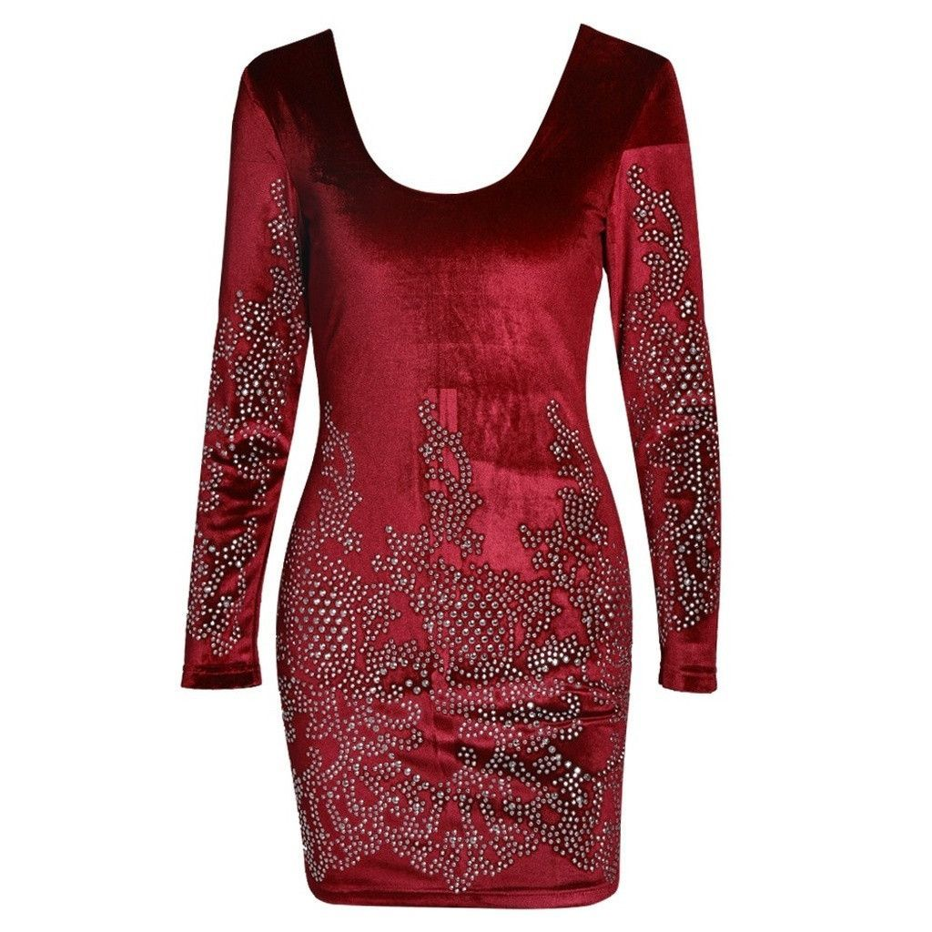 Red velvet dress products