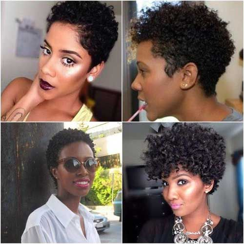 37 Cabelos Afros Curtos Vídeo Com Tutorial De 6 Penteados