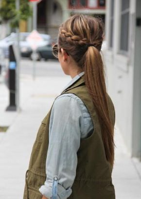 Plait & ponytail!  #zolacollections #summer #hair