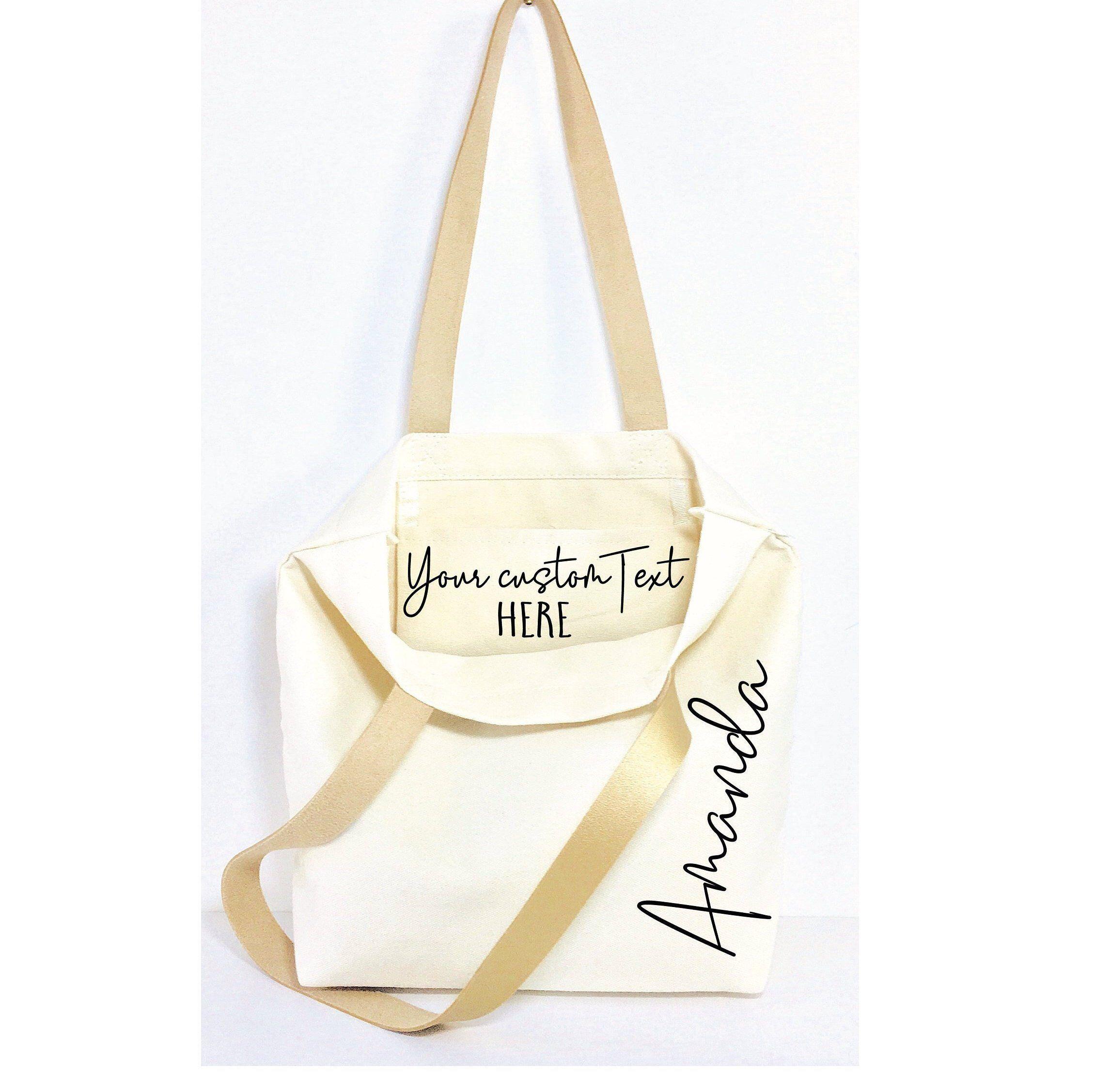 Christmas custom bags gifts ideas personalized handbags