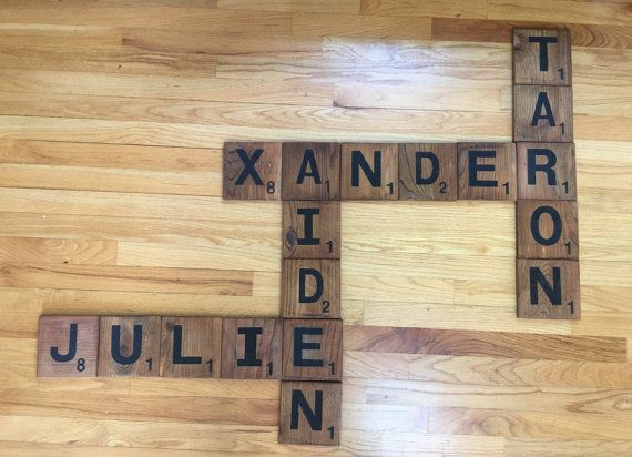 Fancy Scrabble Pieces Wall Decor Ensign - Wall Art Collections ...