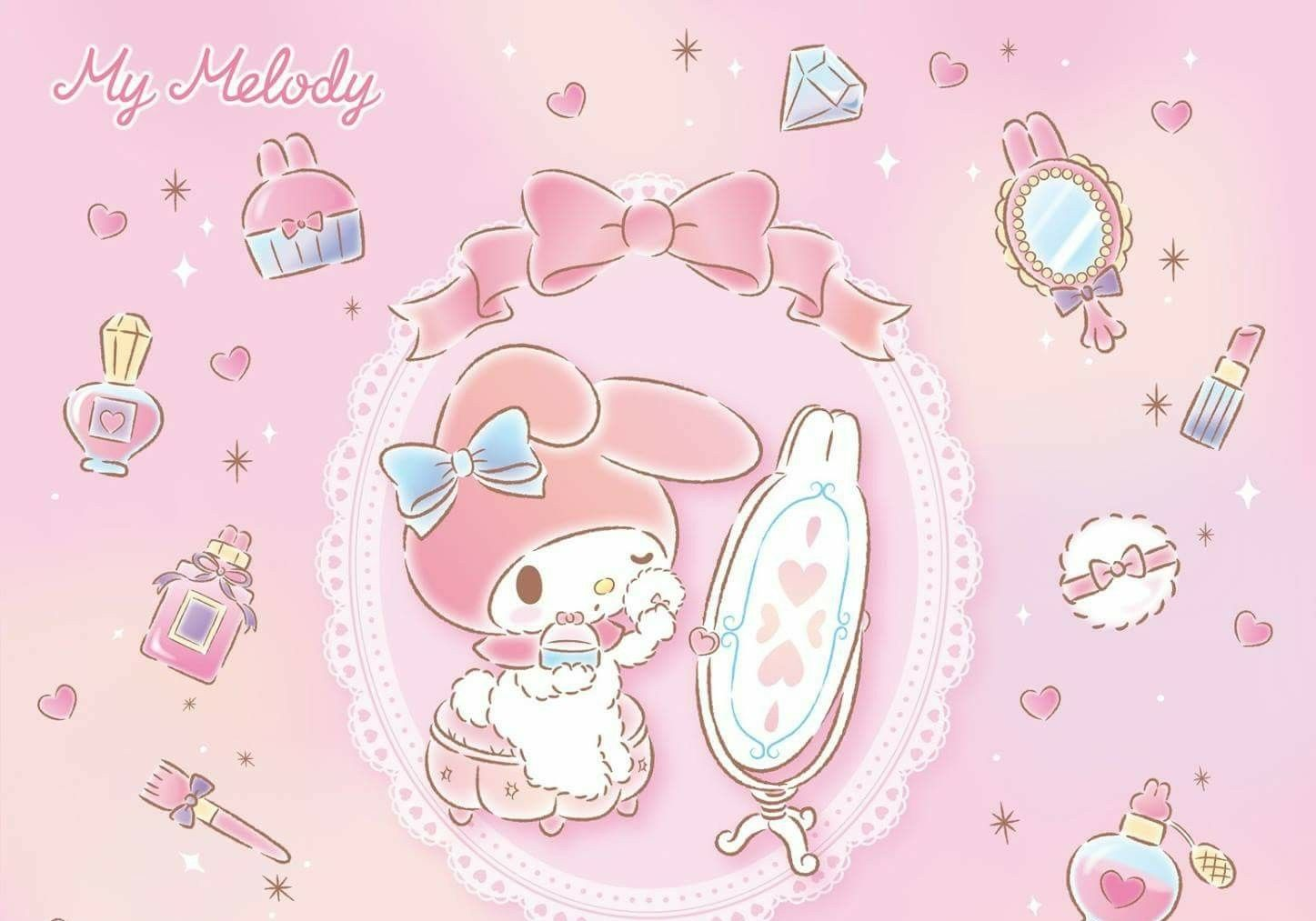 My Melody | My melody wallpaper, Phone themes, My melody