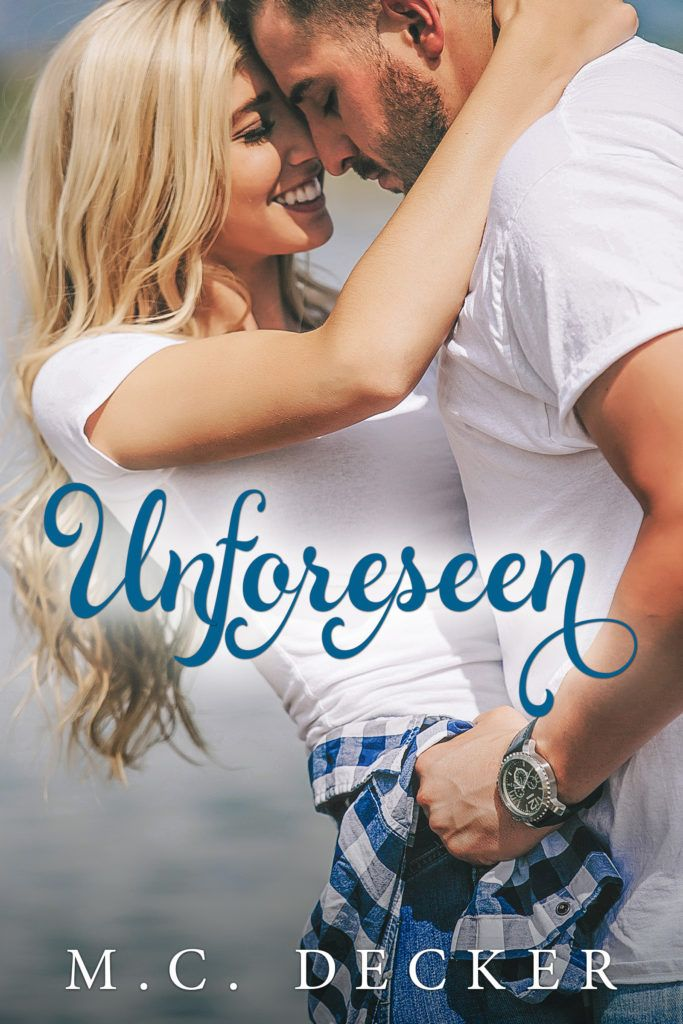 Cover Reveal Media Kit Unforeseen by M.C. Decker