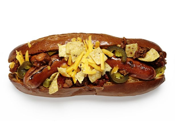 Frito Dog! Love this idea, I personally love frito chili I used to eat all the time in New Mexico, now I can make a hot dog version.