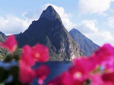 Chris and I will hopefully visit you in the future...St. Lucia