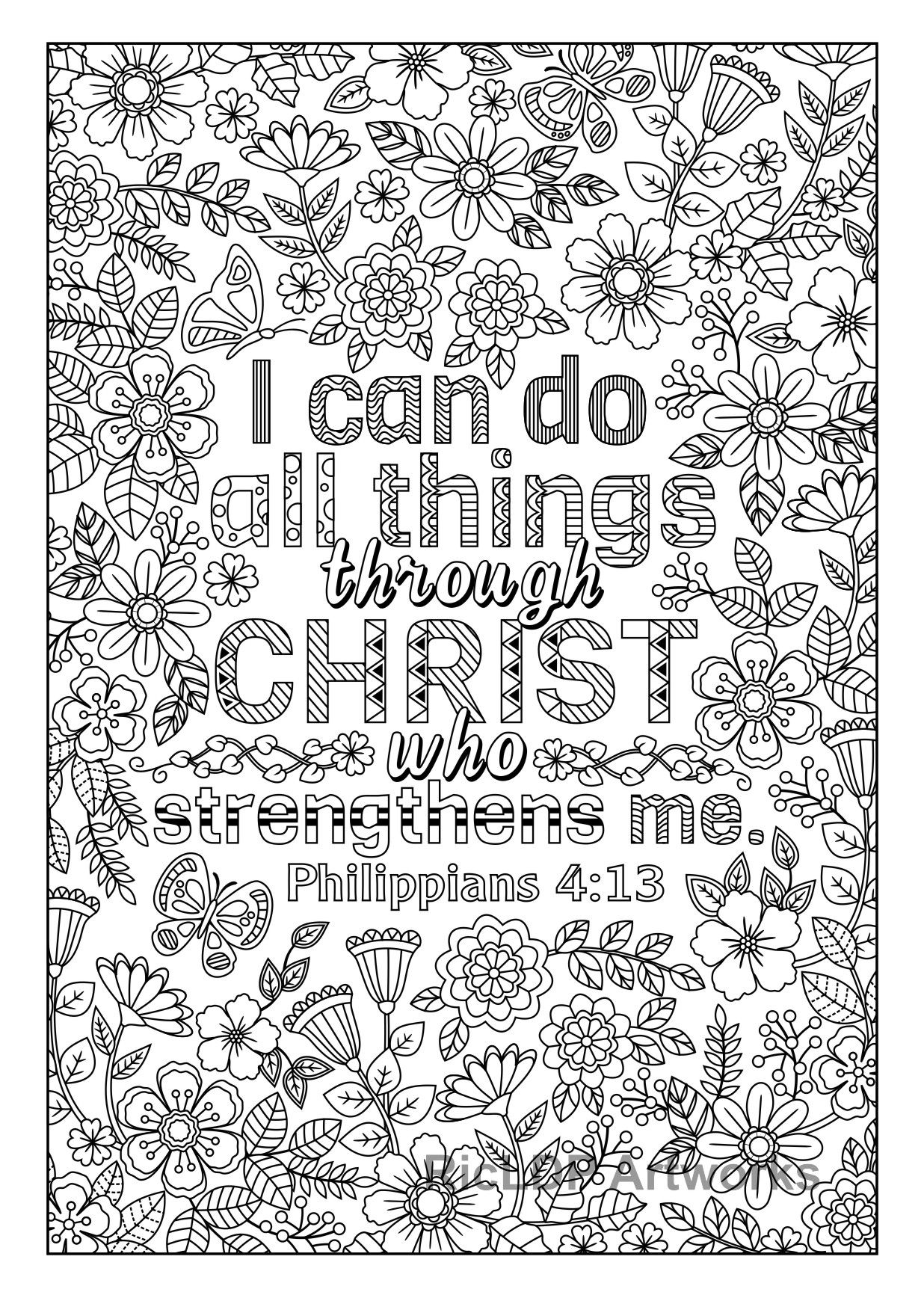Two Coloring Pages quot I Can Do