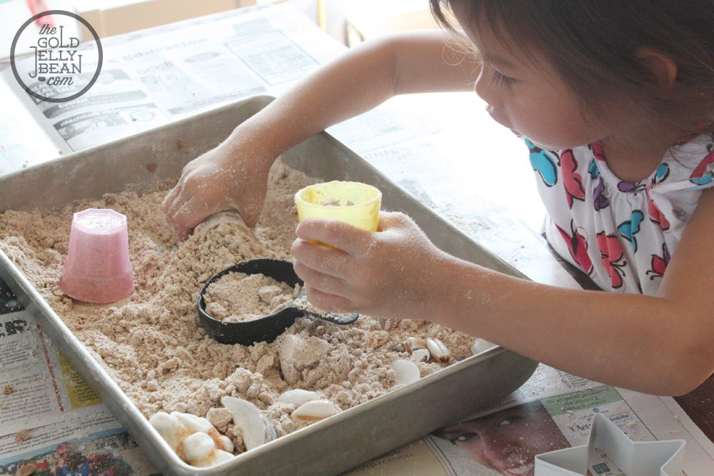 Sticking with the BabbaBox theme from earlier this week (Sun, Moon, & Stars), we decided to explore and play with moon sand. I found several recipes for cloud dough online which include ...