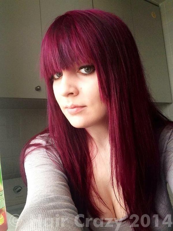 Britt95gt S Multi Coloured Haircrazy Com Directions Hair Dye Multi Colored Hair Coloured Hair