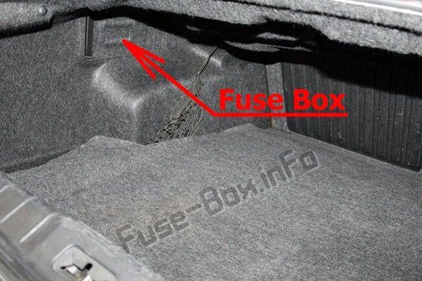 Fuse Box Diagram Chevrolet Malibu 2008 2012 In 2020 Chevrolet Malibu Fuse Box Chevrolet