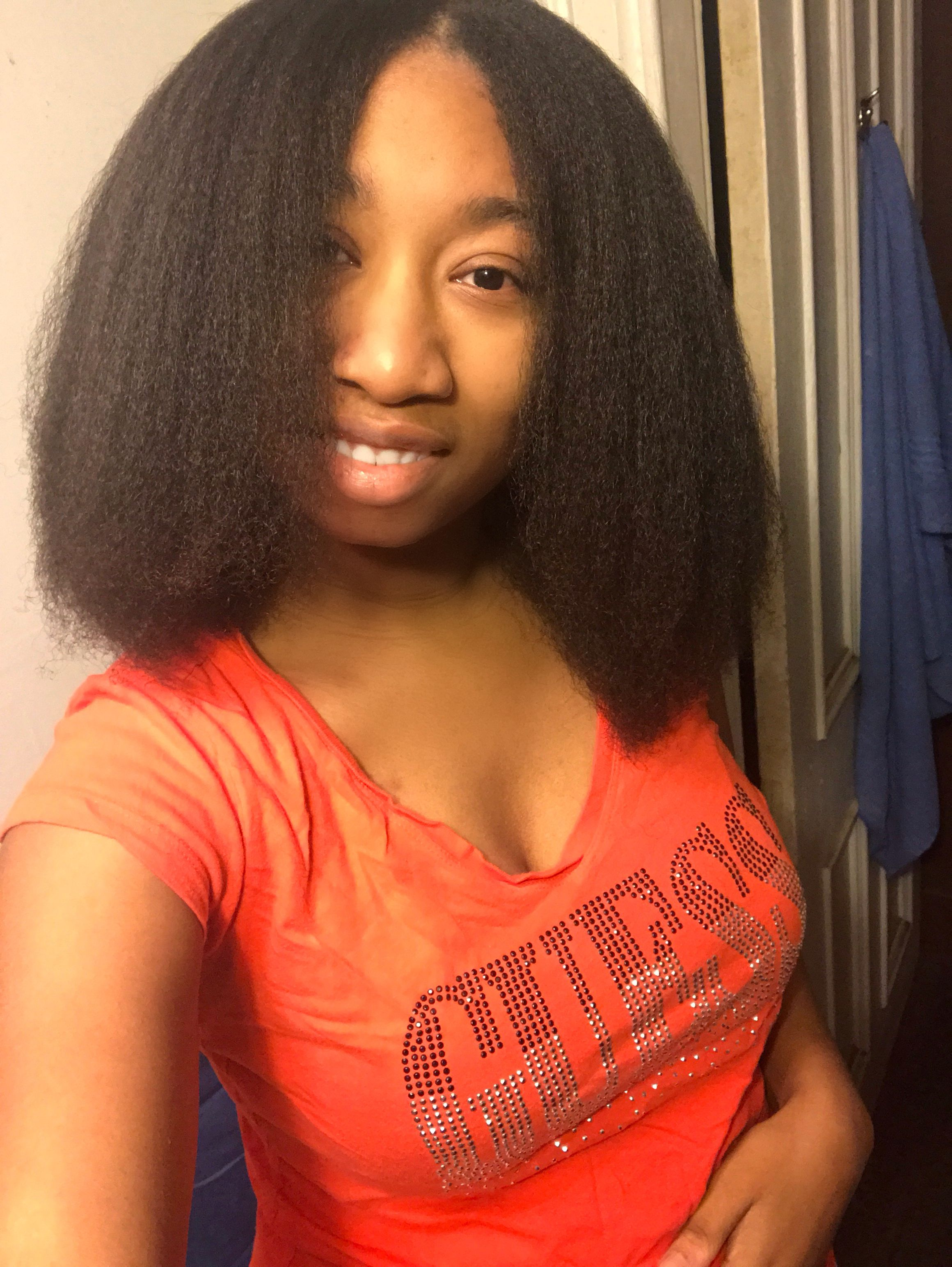 Does the revlon blow dryer brush work on 4c hair coily