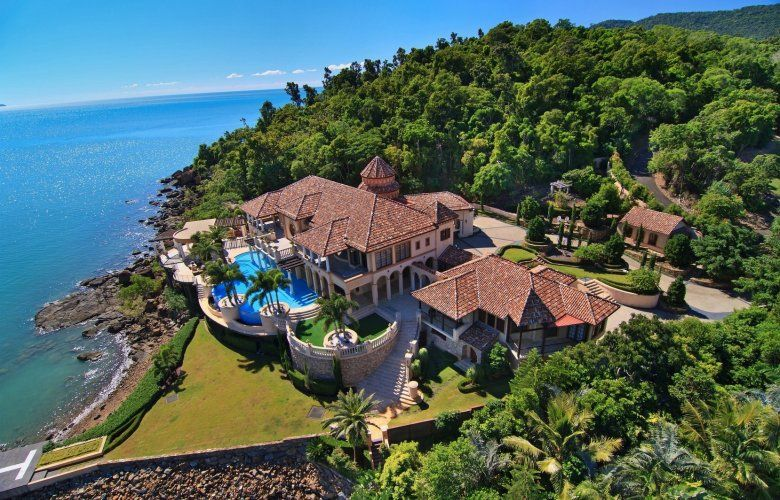 Beachfront Mansions On Private Pennisula   The Best House For Sale In The  World   The Real Estate Conversation