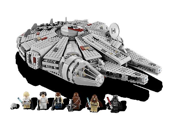 Star Wars Lego Lego Millenium Falcon Star Wars Toys Millennium Falcon Lego