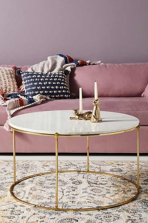 leavenworth marble coffee table  unique living room