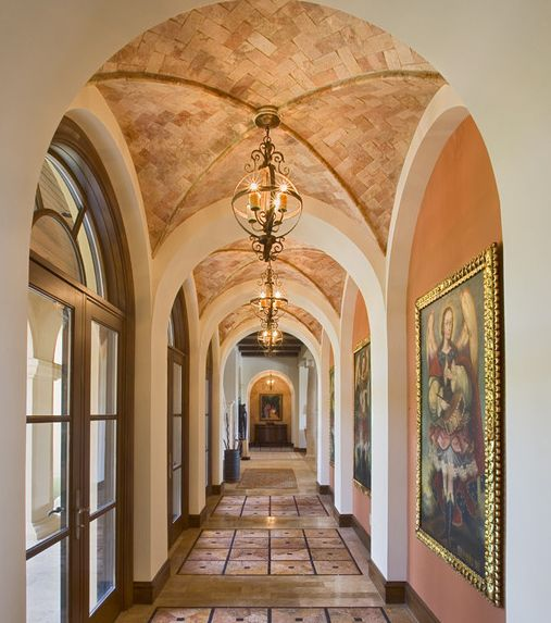 300 ceiling design ideas pictures long hallway lights for Groin vault pictures