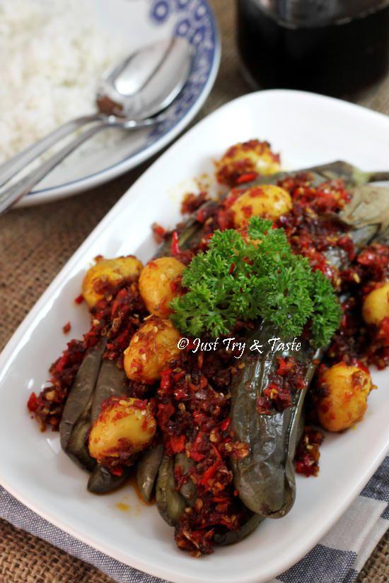 Resep Terong Balado : resep, terong, balado, Taste's, Recipes