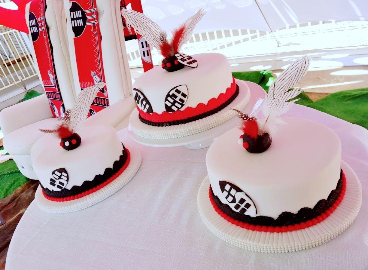Siswati Traditional Wedding Cakes