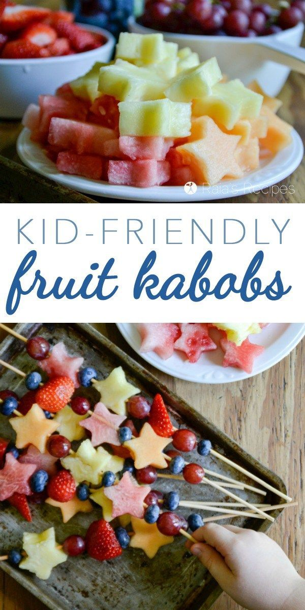 treat Healthy fruit kabob