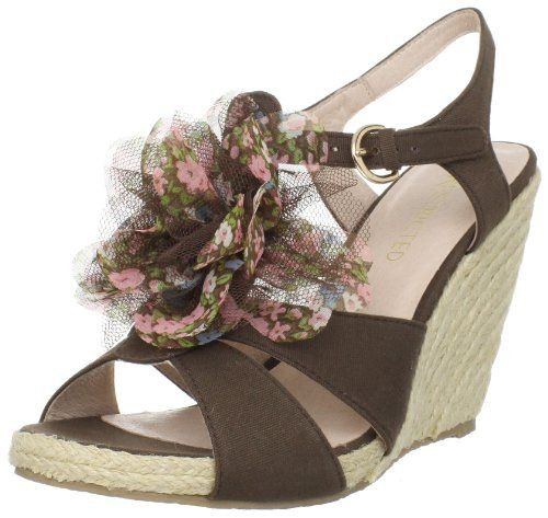 f172bf7a093 Restricted Womens Apple Pie Wedge SandalBrown75 M US    Click image to  review more details.(This is an Amazon affiliate link and I receive a  commission for ...