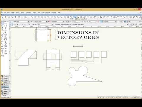 Dimensions In Vw Pt2 Vectorworks Dimensions University Of Oregon