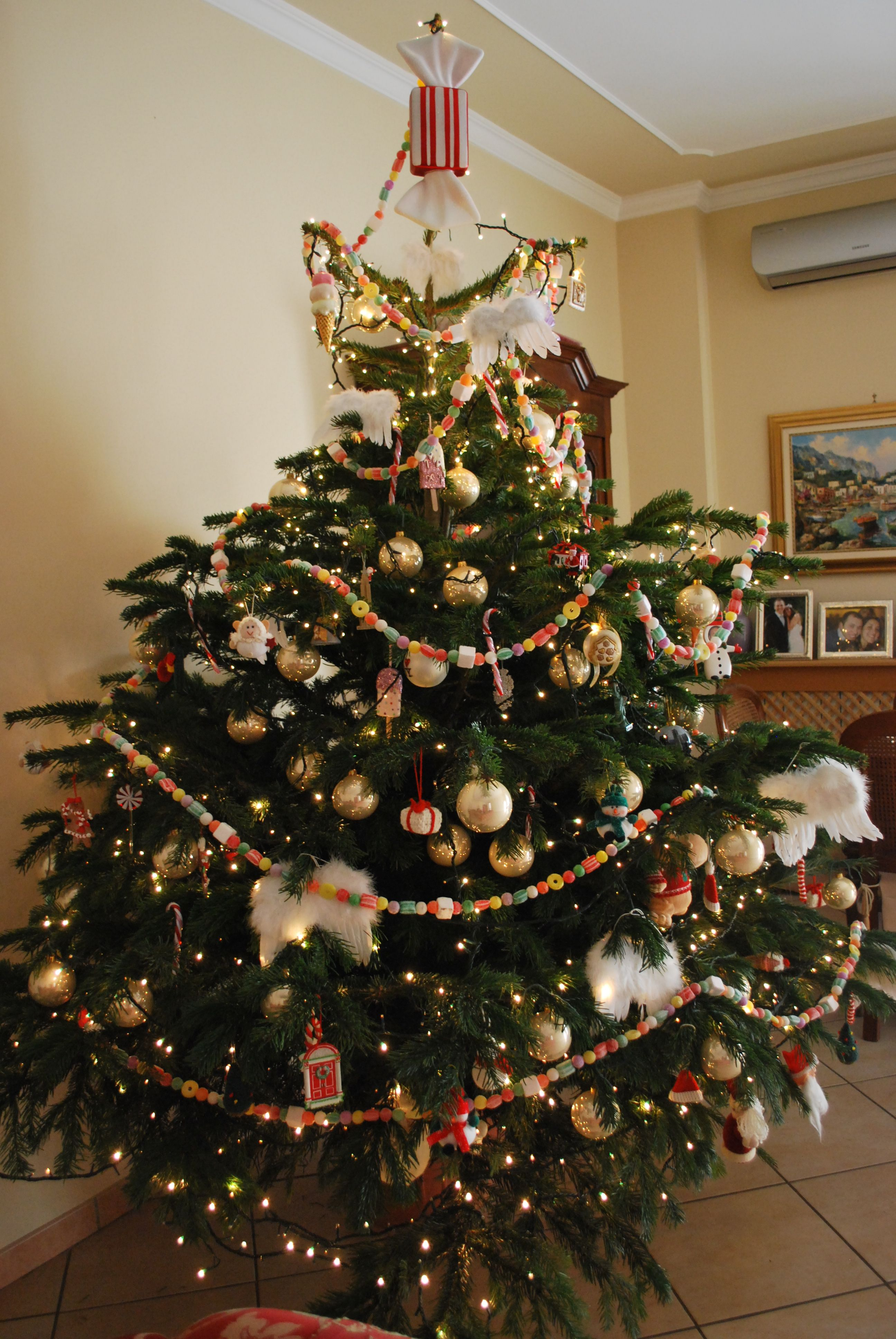 christmas candy tree topper