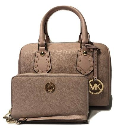 Michael Kors Aria Bundled with Fulton Phone Wallet Blossom Saffiano Leather  Satchel. Save 51% 9b53a28b81