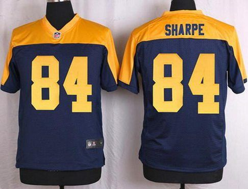 green bay packers 84 sterling sharpe navy bluegold retired player nfl nikeu2026