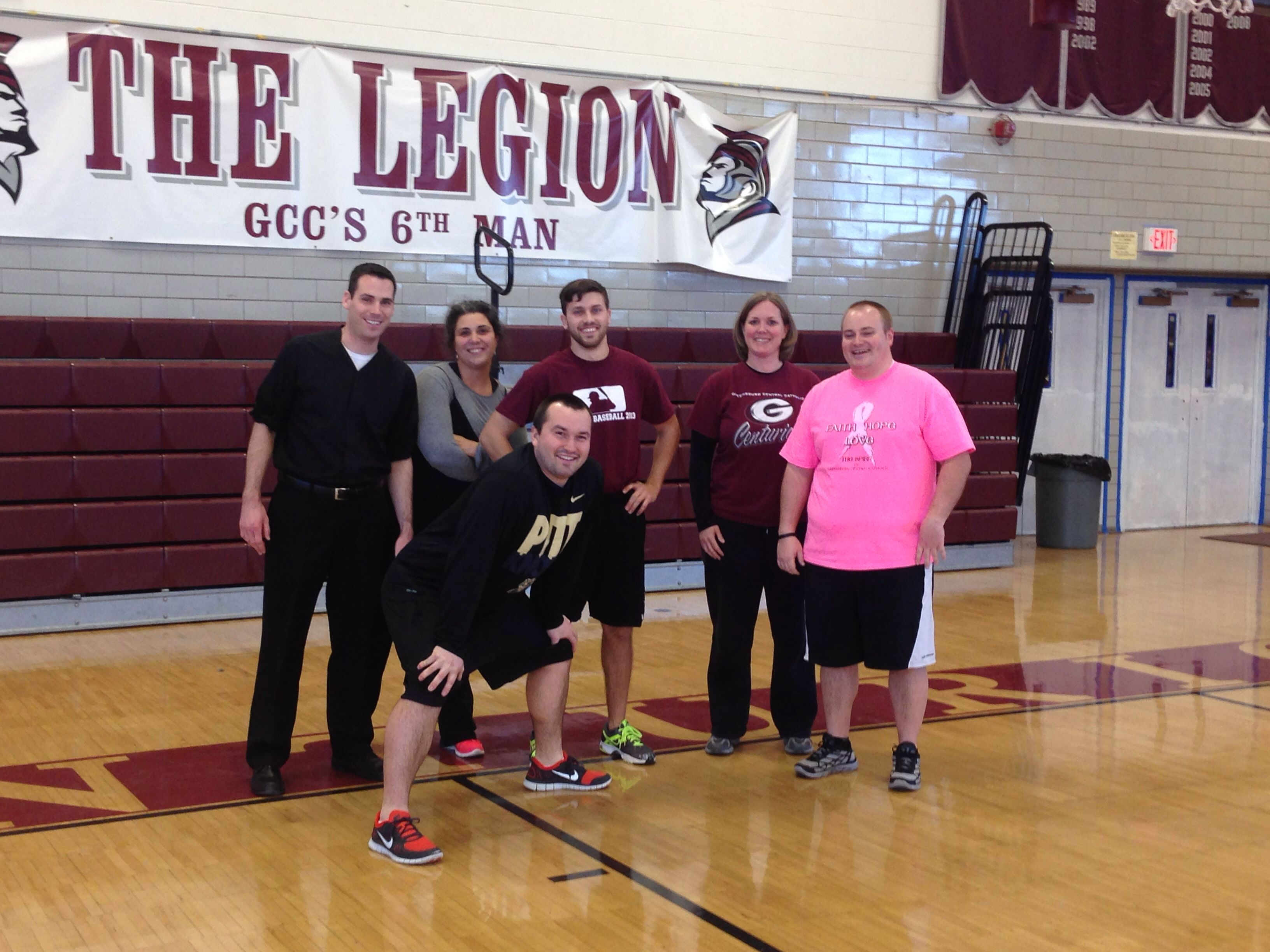 Faculty Against Students Annual Dodgeball Tournament