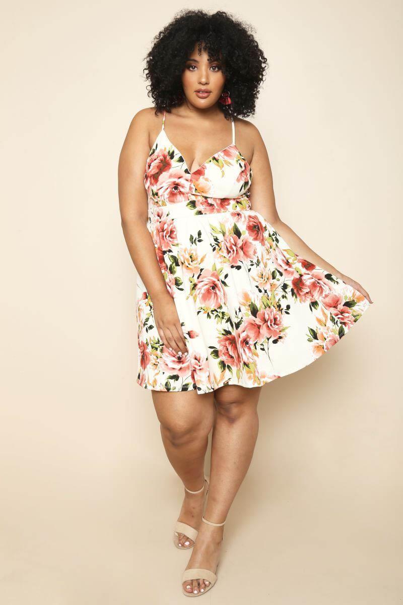 67c0d930b53 Summer Winds Plus Size Dress