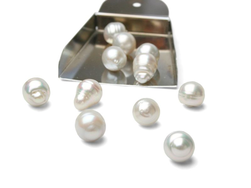 Some of our giant White South Sea pearl inventory... <3