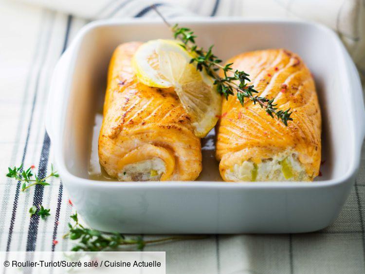 Paupiettes de saumon aux poireaux - Recettes
