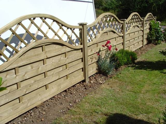 Wooden Fence Privacy Panel Whole Fencing