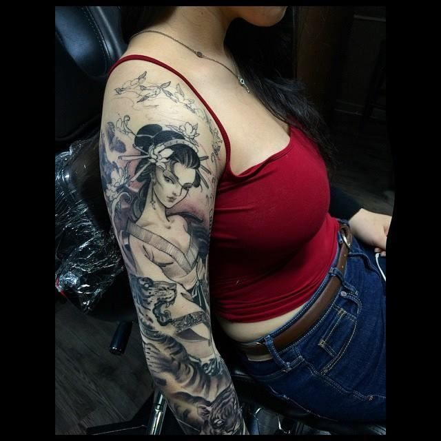 Asian Black and Grey Archives - Chronic Ink   Phoenix