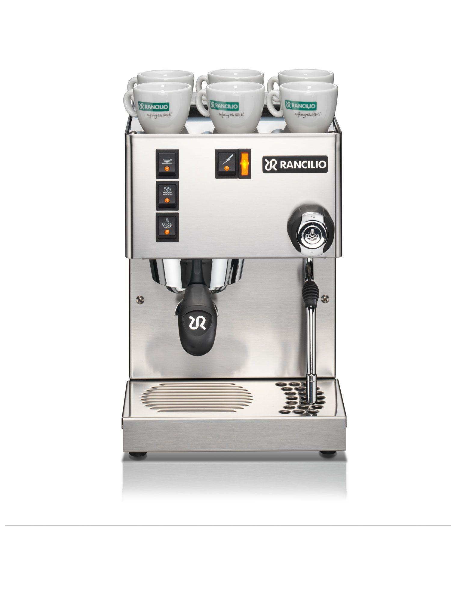 Rancilio Silvia Home Espresso Machine   Prima Coffee - Prima Coffee in 2020   Home espresso ...