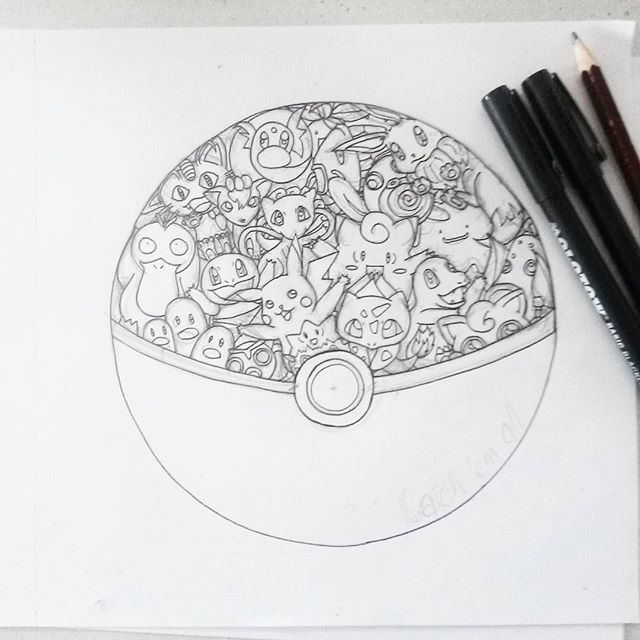 coloriage anti stress pokemon