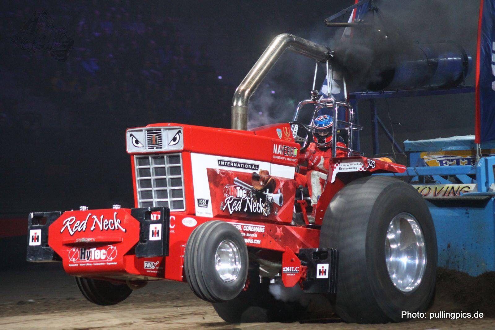 Pro Stock Garden Tractor Puller : Hytec red neck pro stock ahoy indoor tractorpulling