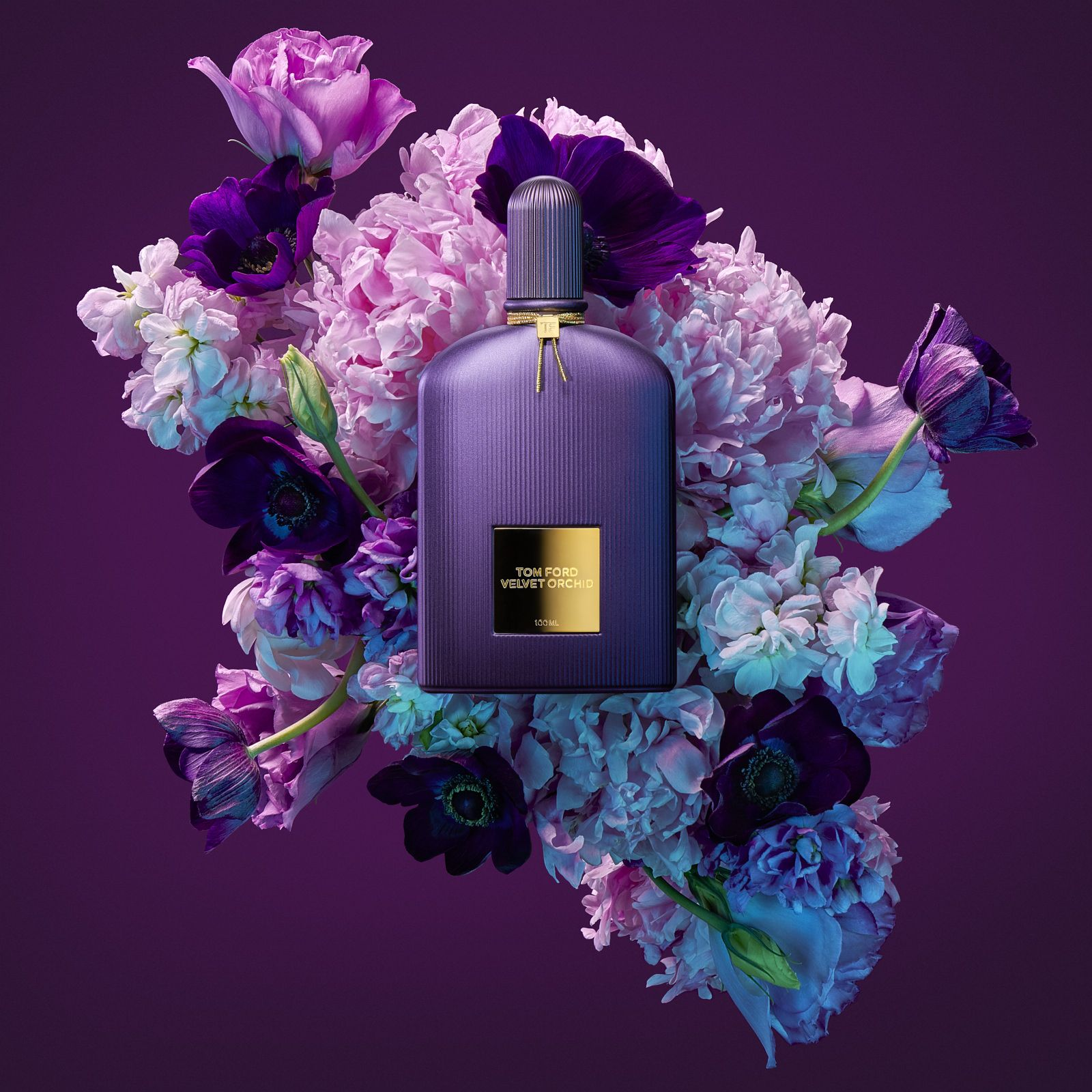 Tom Ford Velvet Orchid By Luxury Brand Photographer Matthew Roharik Los Angeles Floral Styling By Jessica Stew Fragrance Photography Beauty Advertising Perfume