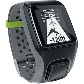 Tomtom Multisport Heart Rate Monitor / Cadence Sensor GPS Watch - Dark Grey