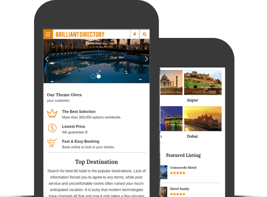 Brilliant Directory Mobile App WordPress Theme | WordPress Themes ...