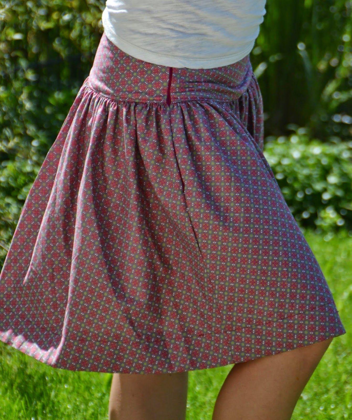 gagaya faltenrock 1 freebook online neue n hprojekte pinterest sewing sewing clothes. Black Bedroom Furniture Sets. Home Design Ideas