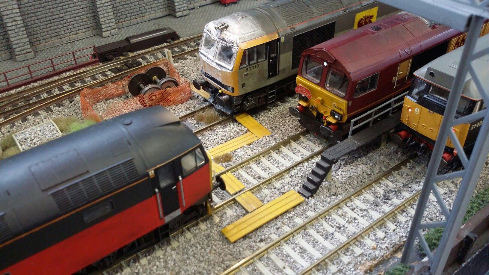 Pin by Stephanie Dearden on Rail layout ideas (track plans ...