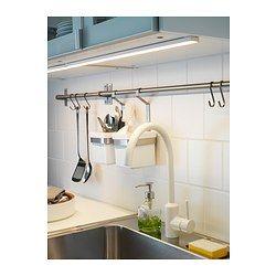 omlopp clairage plan travail led blanc deco home pinterest ikea armoire cuisine ikea. Black Bedroom Furniture Sets. Home Design Ideas