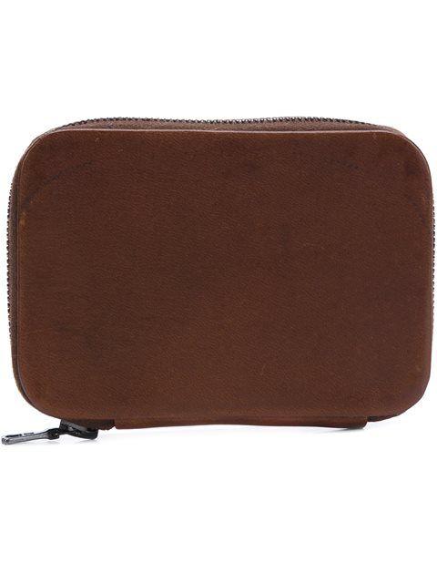 Shop Isaac Reina zip mini wallet.