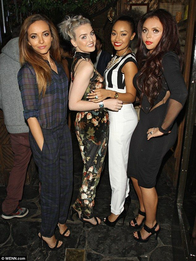 (Wedding) Party: Jesy Nelson, Jade Thirlwall, Leigh Anne Pinnock and bride-to-be Perrie Edwards
