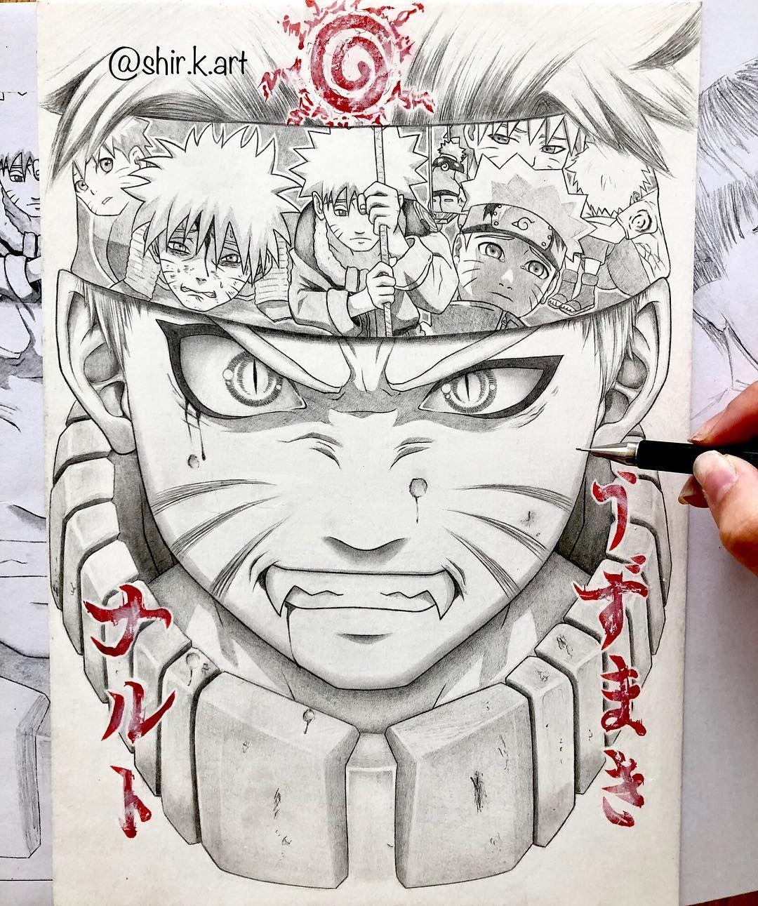 Original Fanart Naruto Naruto Suffered So Much But