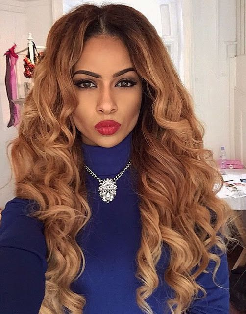 Wavy Ombre Weave Hairstyle Httphairstylo201507weave