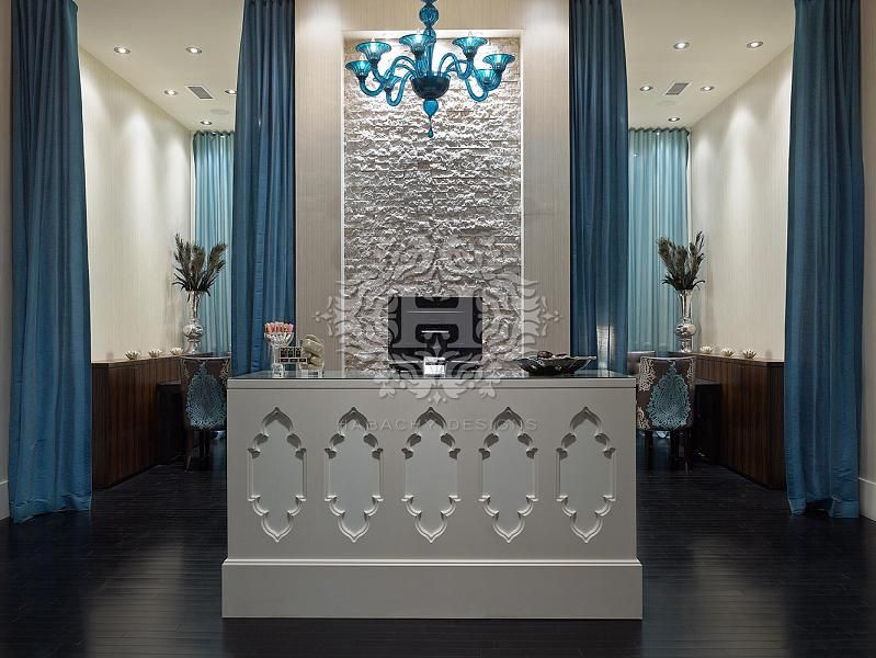 Footique modern nail salon interior designed by habachy - Nail salon interior design photos ...